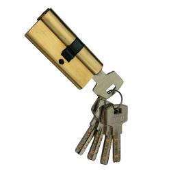 Cylinder 68 mm cp with 5 keys GP (gold)